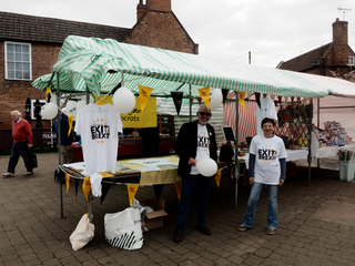 Southwell Market stall